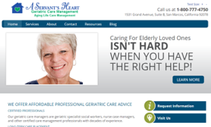 A Servant s Heart Geriatric Care Management - Home Page