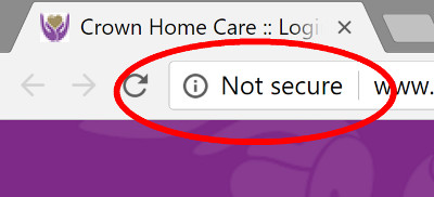home care websites ssl required